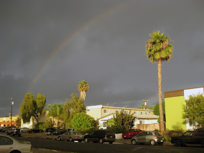 Sunday's rainbow