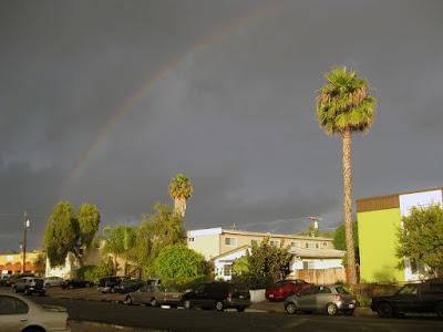 Sunday's rainbow