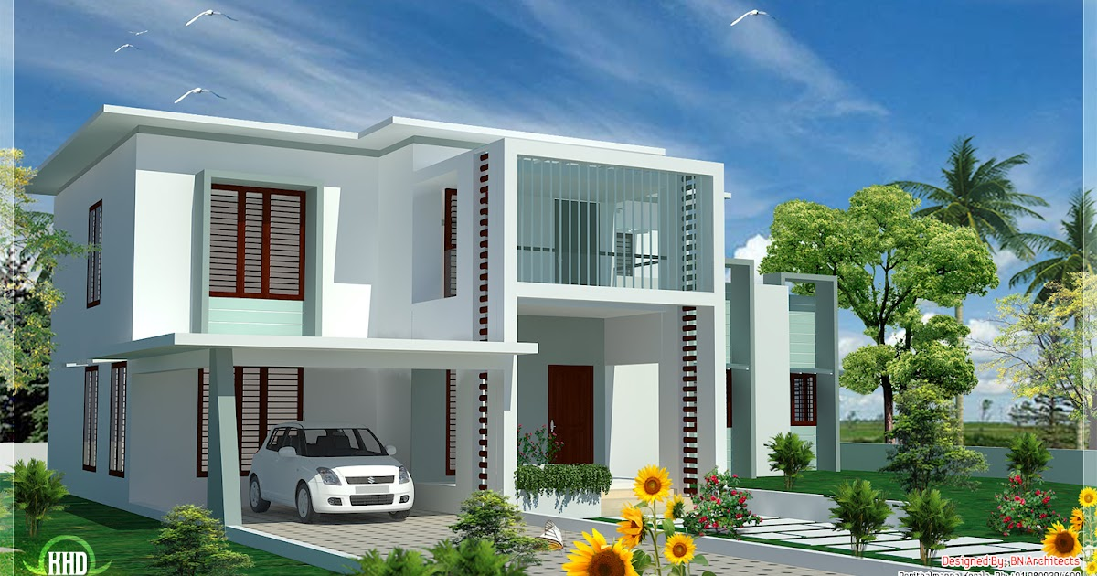 House Plans And Design Modern House Plans Flat Roof