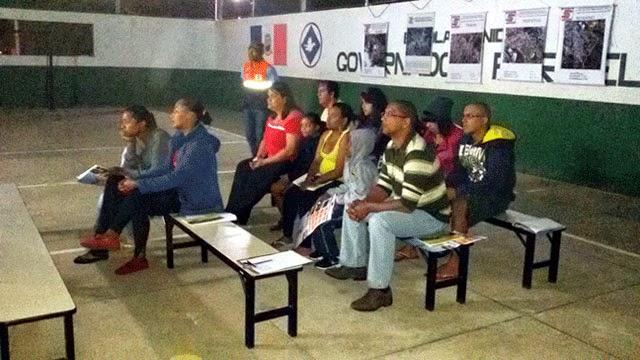 Foto Nudec Pinheiros: Moradores do bairro dos Pinheiros participam do ciclo de palestras