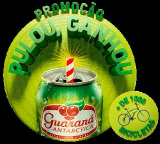 Promoção Pulou Ganhou Guaraná Antarctica