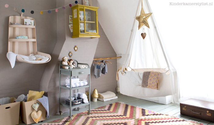 Kinderkamer Stylist : Space Saving Ideas for Small Nursery