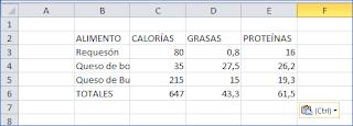 Resultado en Excel al copiar una lista tabulada desde Word como Texto