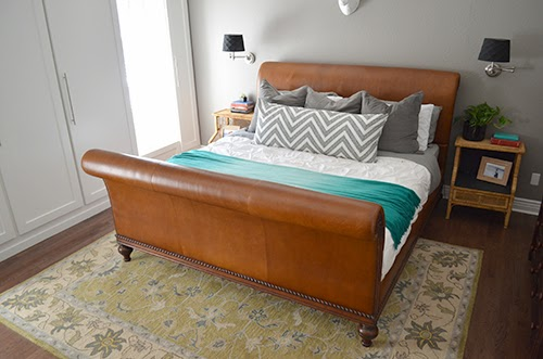 Luxury In case you ure wondering why I didn ut buy any of those upholstered beds that pop up on Joss and Main all the time it us because I don ut like when