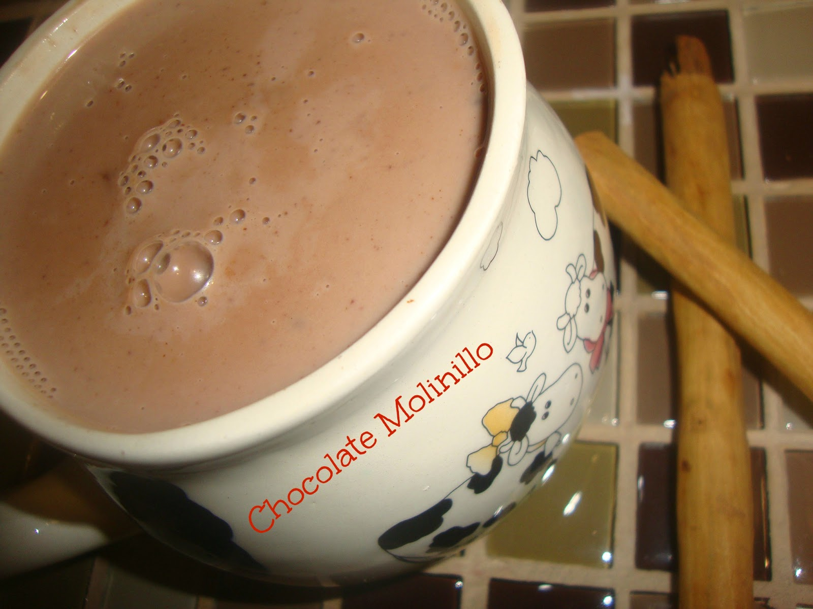 Atole de Chocolate a la canela