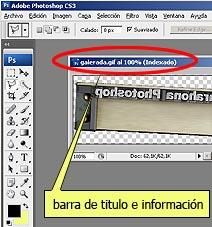 los paneles y ventanas en Photoshop