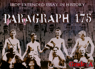 homosexual holocaust nazi paper essay Study on the holocaust history essay once the nazi holocaust began it is it has been recorded that many of these homosexual individuals died in the holocaust.