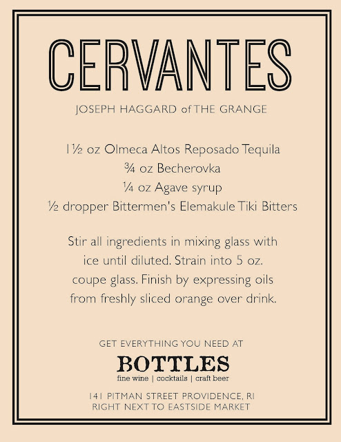 Cervantes Cocktail Recipe by Joseph Haggard