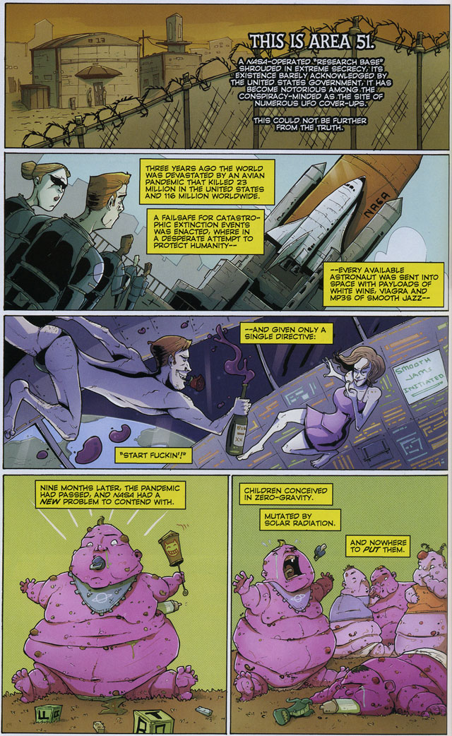 Chew #19 by John Layman and Rob Guillory