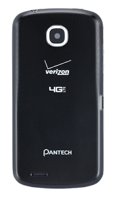 "Pantech Marauder - USA - Verizon Wireless - CDMA, 4G LTE - Display 3.8"" , 480 x 800 pixels"