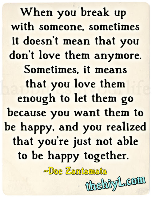 Quotes About Breaking Up Cartoon Break Up Quote...