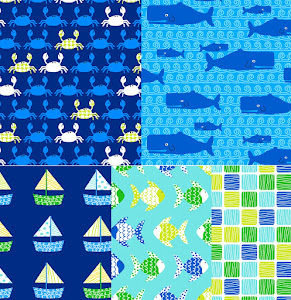 DON&#39;T BE CRABBY FOR ROBERT KAUFMAN FABRICS | DECEMBER 2012