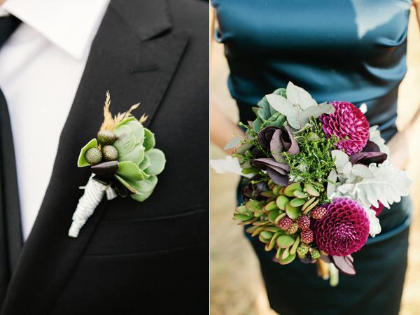Una boda rústica y bohemia en Otoño