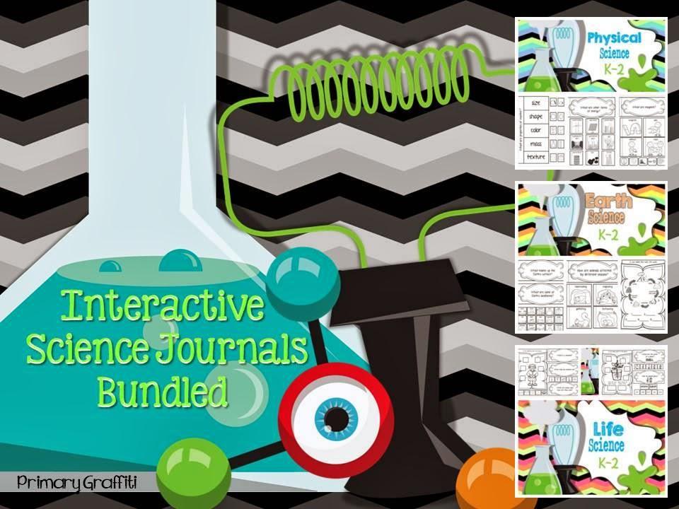 http://www.teacherspayteachers.com/Product/Interactive-Science-Journals-Bundled-K-2-1101081