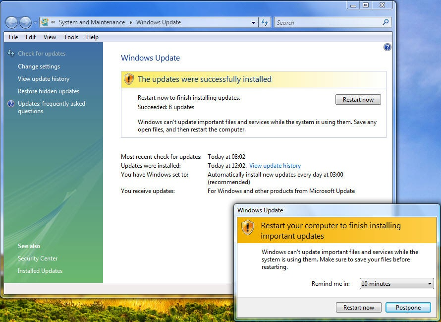 windows update long time windows7  The Manaissance