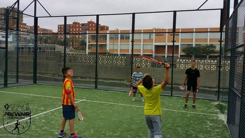 tenis deporte niños