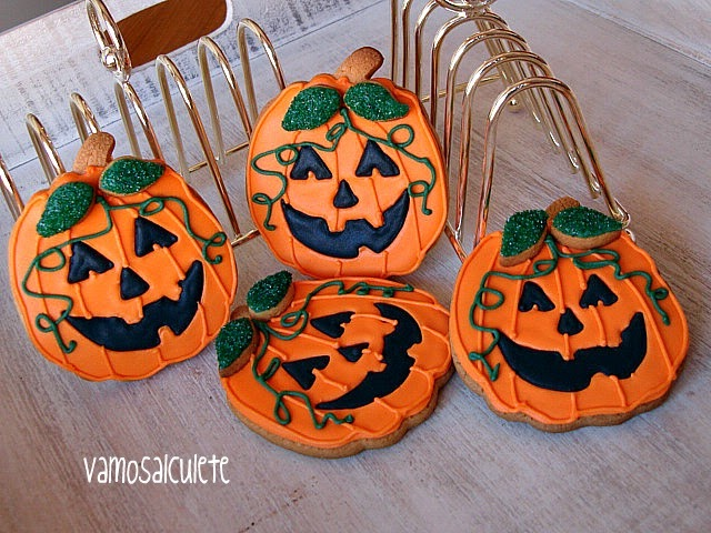 Fartucasedeyantar galletas decoradas calabazas haloween - Calabazas decoradas ...