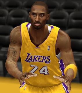 NBA 2K13 Black Mamba Kobe Bryant CyberFace