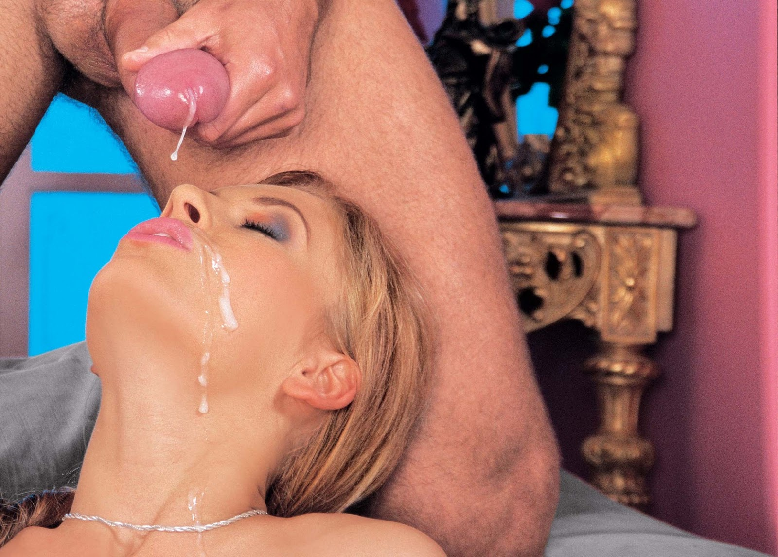 Brandi belle gives amazing blowjob