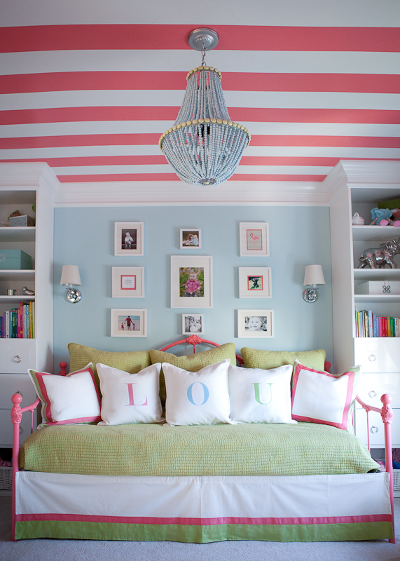 Pretty rooms for little girls simply sarah style - Pretty green rooms ...