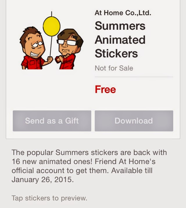 Summers Animated Stickers