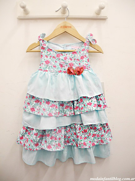 vestidos para niñas primavera verano 2014