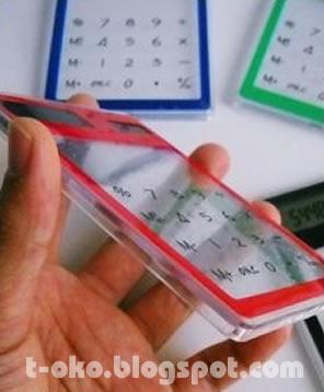Kalkulator Transparan, Barang Unik, Produk Unik