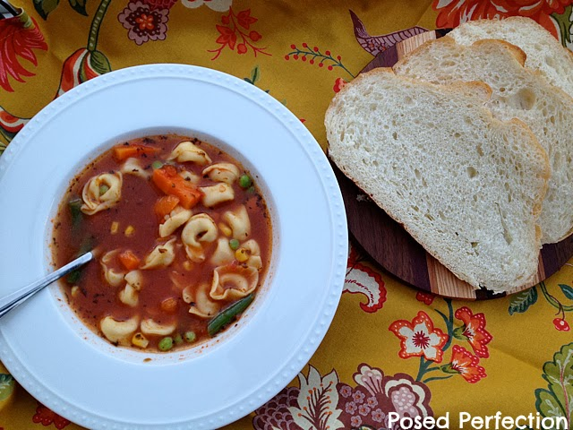 Tasty Tortellini Soup (Just 4-Ingredients)