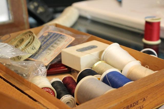 Fashion Show Emergency Sewing Kit #vintage #fashion