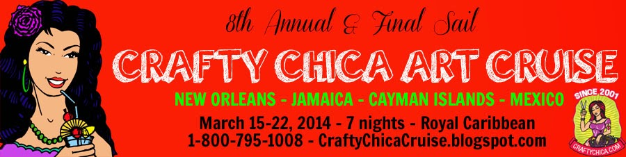 Crafty Chica Art Cruise!