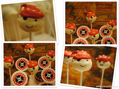 Cakepops piratas