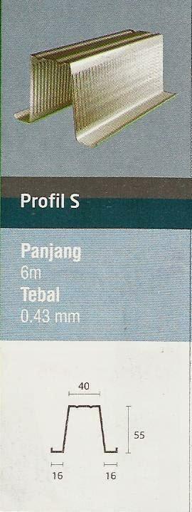 IGGI TRUSS PROFIL S - JUAL RANGKA ATAP BAJA RINGAN