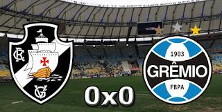 Ficha da Bola Placar Vasco 0x0 Grêmio 32ª Rodada Campeonato Brasileiro 2015