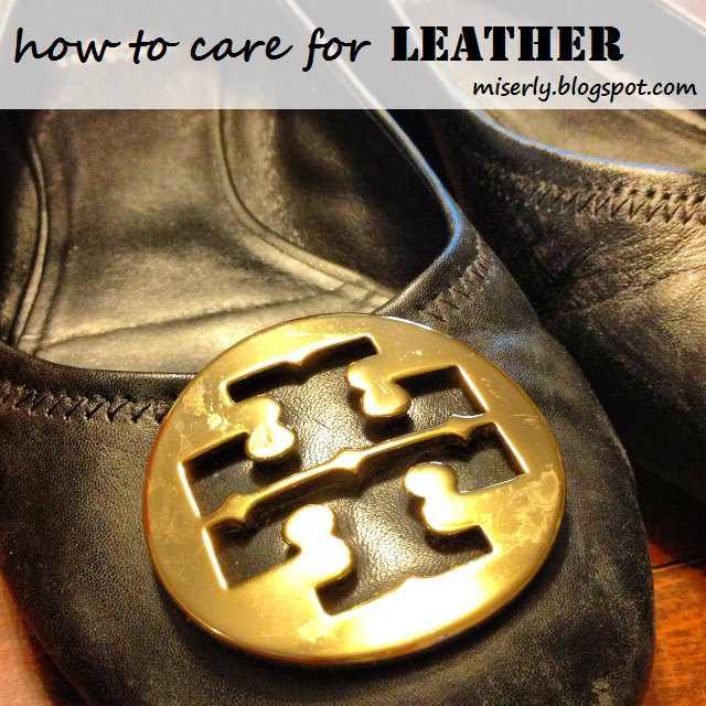 how to clean leather at home