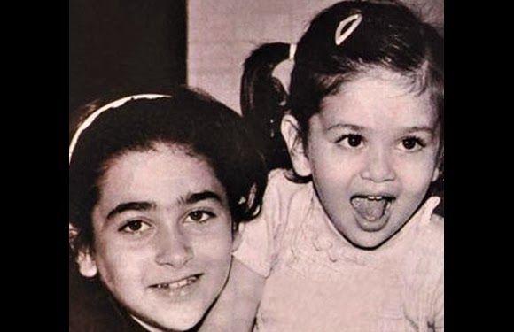 childhood rare photos of Karishma Kapoor | childhood rare photos of Kareena kapoor