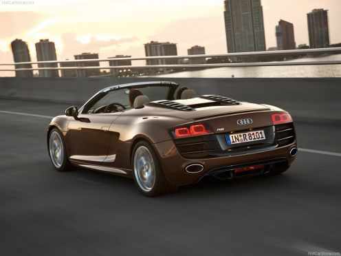 Audi R8 Spyder Wallpaper White. Audi R8 Spyder Wallpapers and