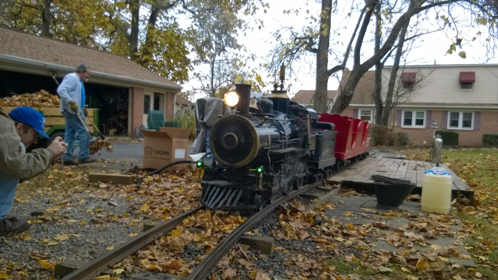 Braddock Heights Cagney with headlight and class lights mounted and on