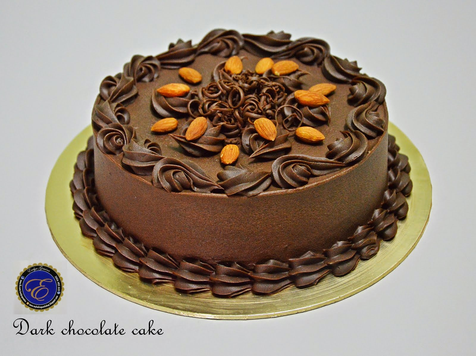 Dark Chocolate Cake / 1.2kg