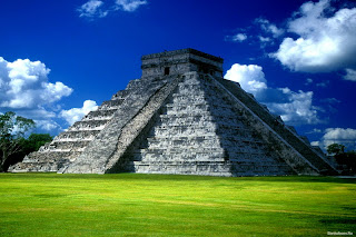Beautiful image of chichen itza,PICS,PICTURE,mexiko