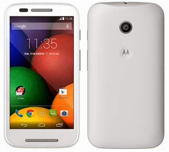 Moto E press shots surface