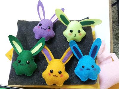 Nuigurumi rabbits