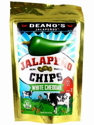 Deano's Jalapeno Chips White Cheddar