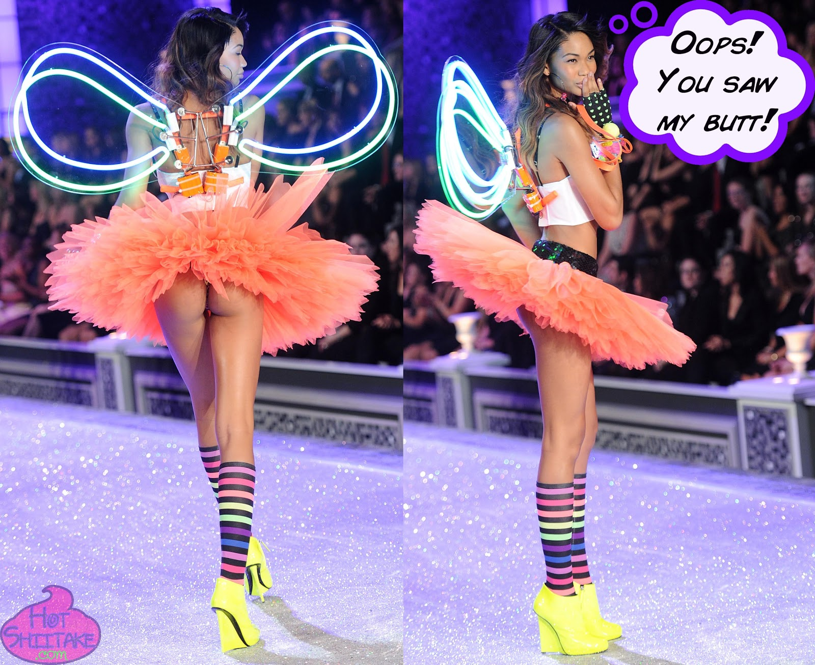 Chanel Iman Victorias Secret Fashion Show 2011