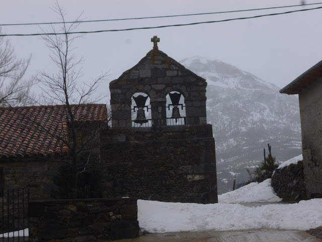 Fuentes Carrionas: Espiguete (2445m),corredor Norte.