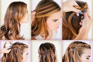 Wie man die Haare zu flechten?