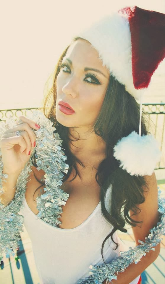 Candid Photoshoot : Jennifer Irene Gonzalez Photoshot For  Christmas Magazine  December 2014 Issue