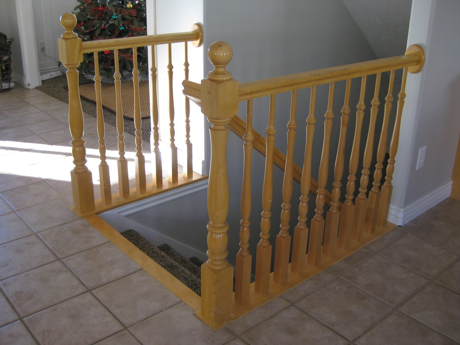 DIY Stair Banister Tutorial   Part 1, Building Around Existing Newel Post