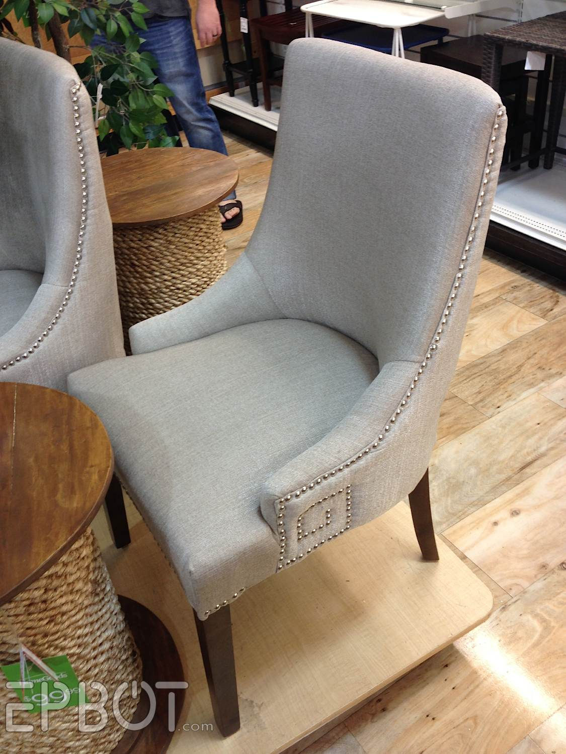 home goods chairs epbot the search for steampunk chairs