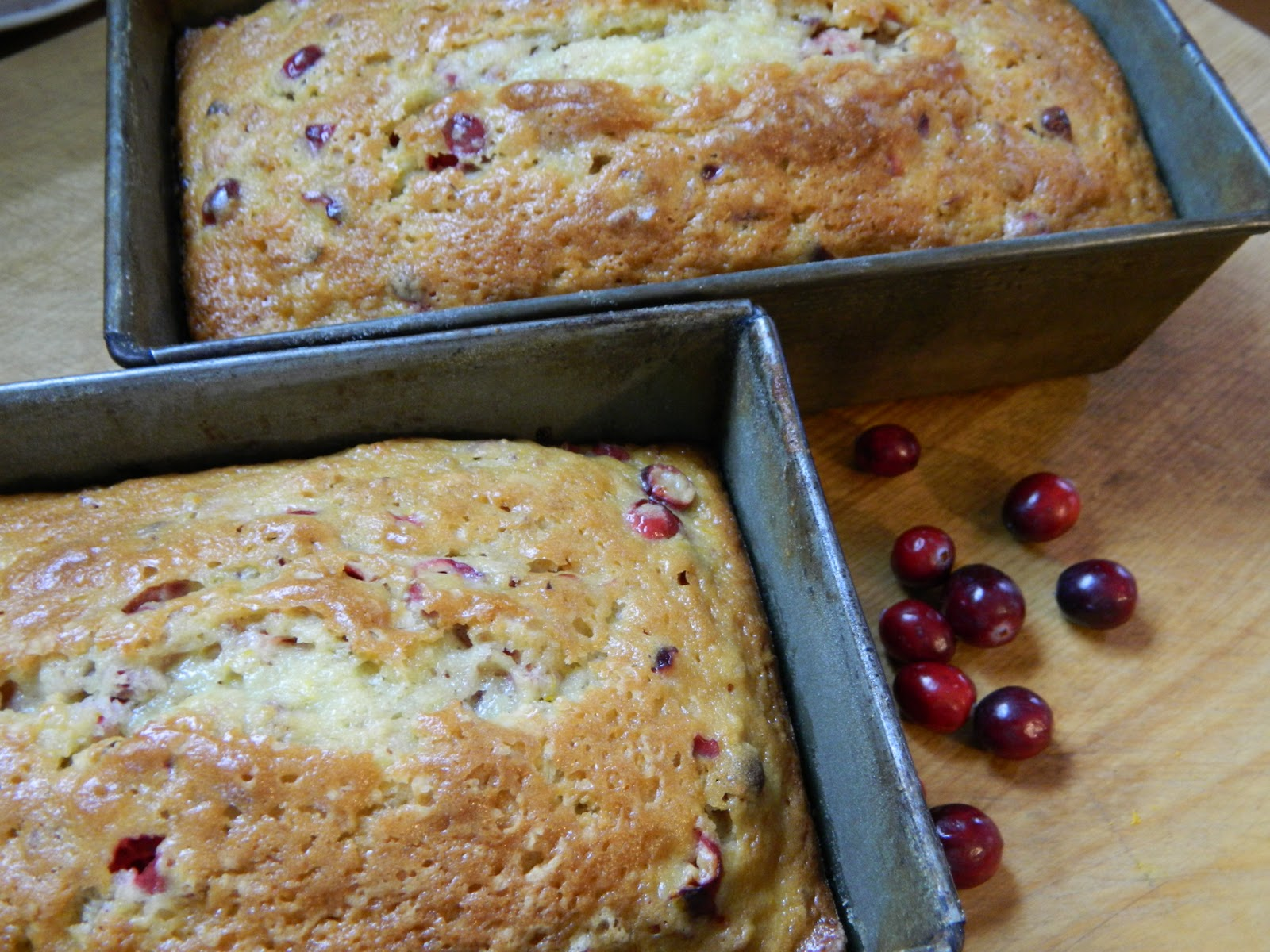 The Wednesday Baker: CRANBERRY ORANGE PECAN BREAD