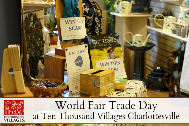 world fair trade day at ten thousand villages